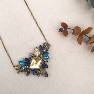 Blue Gem Necklace